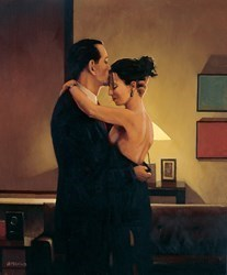 Betrayal - No Turning Back by Jack Vettriano - Limited Edition on Paper sized 13x15 inches. Available from Whitewall Galleries